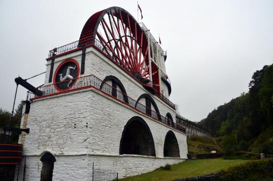 Port Erin, UK: Laxey Water Wheel, Isle of Man