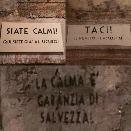 Scritte sui muri foto di bunker soratte sant 39 oreste for Scritte tumblr sui muri