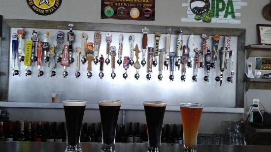 Temple, TX: 37 beers on tap
