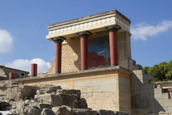 Knossos Archaeological Site: Piano Nobile, Knossos Palace, Crete