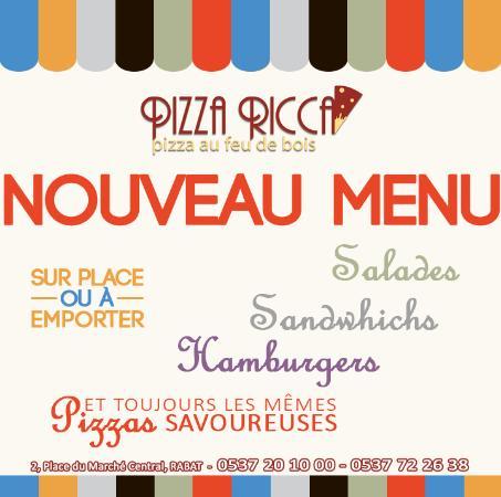 Rabat-Sale-Zemmour-Zaer Region, Marokko: Pizza Ricca