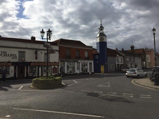 Coggeshall, UK: The lovely village square