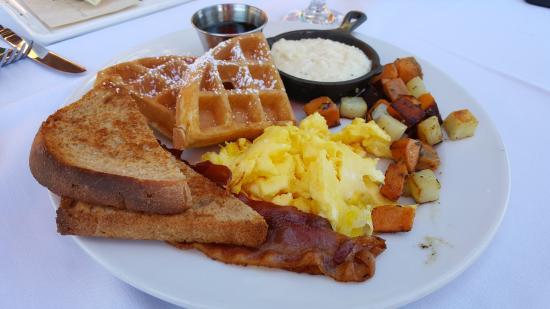 College Park, Geórgia: Breakfast platter
