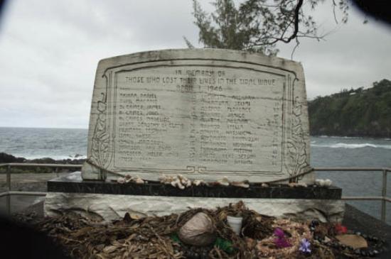 Laupahoehoe, ฮาวาย: Memorial