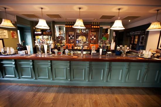 Windmill on the Common: The Pub at The Windmill serving a wide range of cask ales and craft beers.