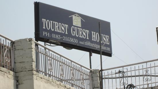 Tourist Guest House: sign board