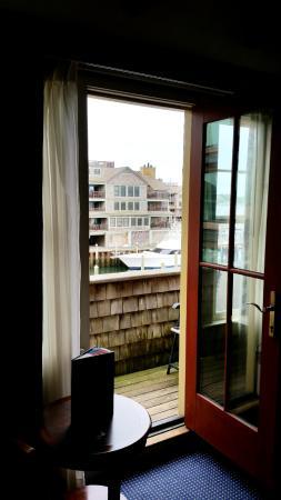 Harborside Inn: Balcony