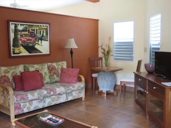 Punta Gorda, Belice: living area for the Suite