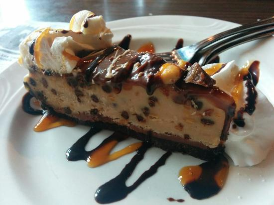 Cadillac, MI: Bourbon Salmon and Peanut Butter Pie!