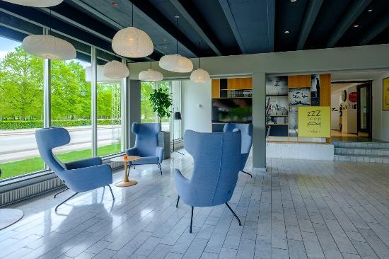 Kastrup, Dinamarca: Lounge and reception area