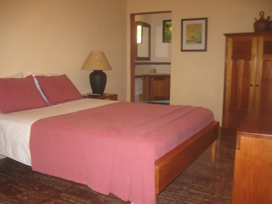Coral House: Room #2 with one queen bed