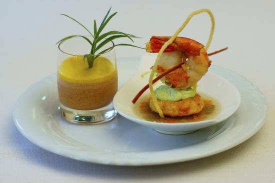 ein kleiner Gruß aus der Küche - Picture of Moselhotel Ludwigs ...