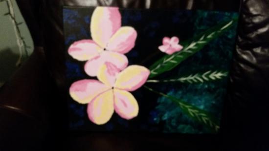 Jupiter, FL: Plumeria Blossoms