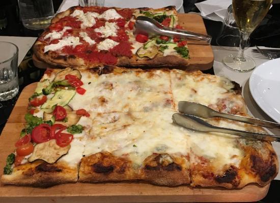 San Giovanni Valdarno, Italia: Pizze a pala
