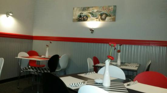 Grünheide, Deutschland: Im Restaurant