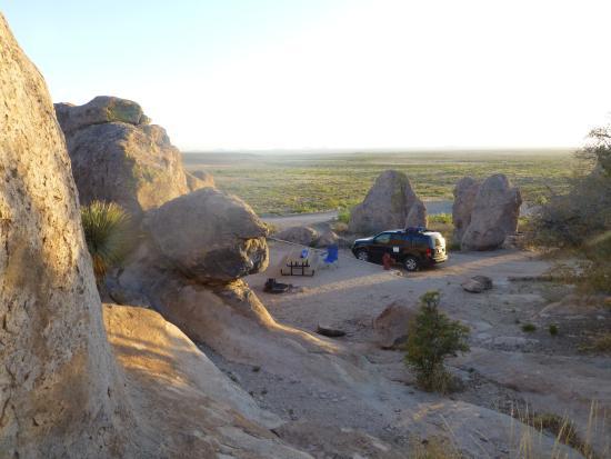 Deming, NM: My campsite
