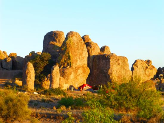 Deming, NM: another campsite