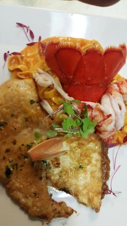 Prelude Restaurant: Chicken and Lobster Francese