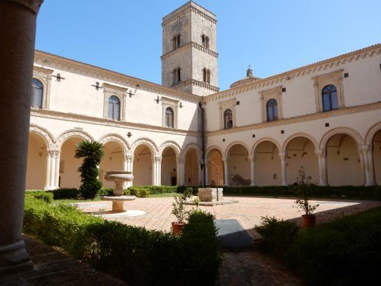 Risultati immagini per L'Abbazia benedettina di S. Michele Arcangelo a Montescaglioso
