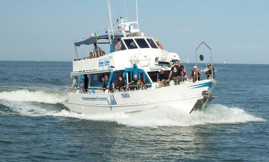 Porto Garibaldi, Italy: Motonave Andrea Doria - Pesca e Divertimento