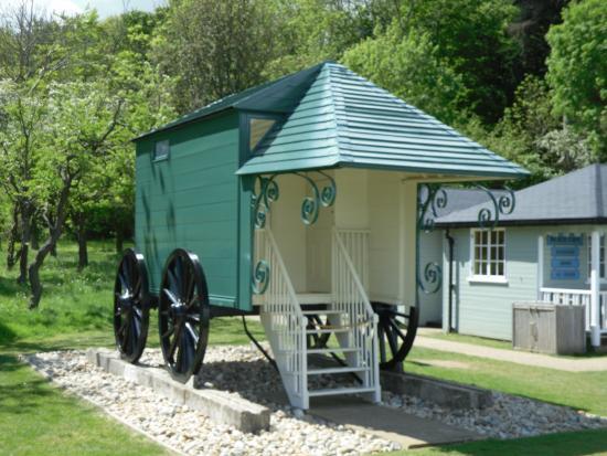 Hampshire, UK: Bathing hut used by the family
