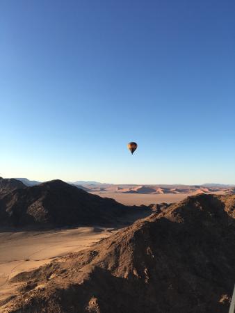 Sesriem, Namibia: Namib Sky Balloon Safaris