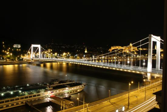 See Budapest................all from the lounge window!