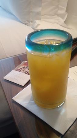 Las Alcobas Mexico DF: In room welcome drink.