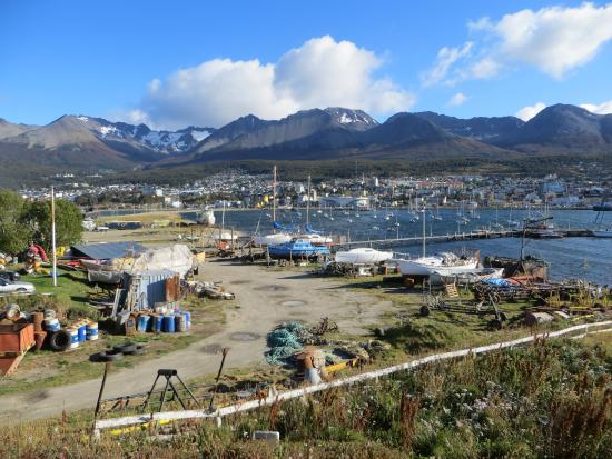 Ushuaia City Tour : view from old airport