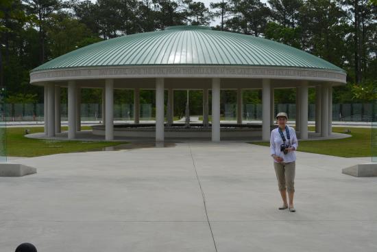 Jacksonville, NC: The Vietnam memorial at Lejeune Memorial Gardens