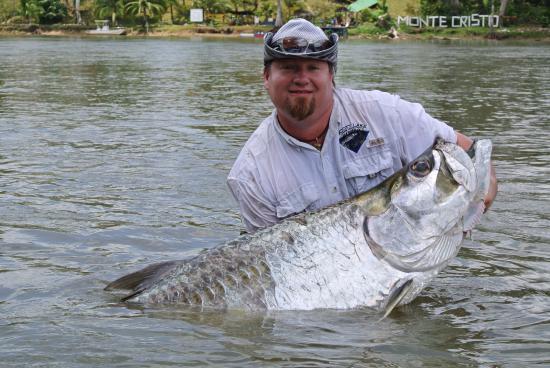 Rio San Juan Department, Nicaragua: Pesca deportiva de Sabalo en Rio San Juan, Nicaragua
