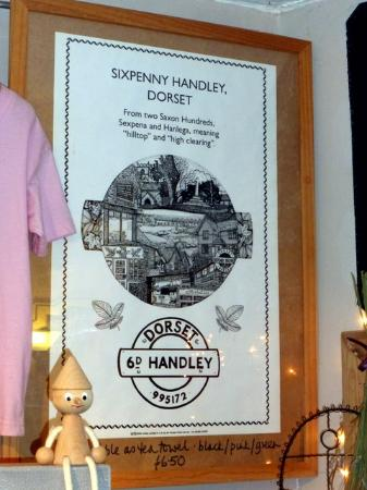 Sixpenny Handley, UK: Origin of the town's name