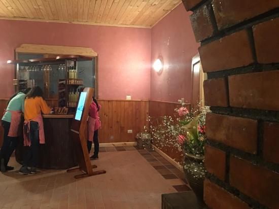 Area de la caja y bar