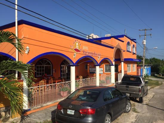 Hotel Hacienda Bacalar: Hotell Hacienda Bacalar