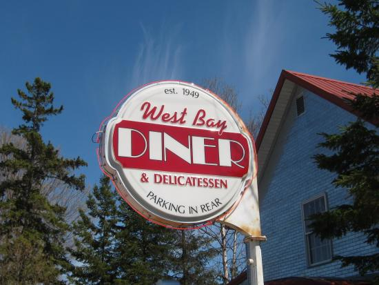 West Bay Diner: Diner Sign