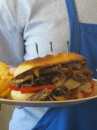 West Bay Diner : One of the delicious sandwiches