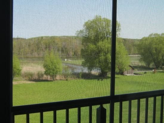 Alanson, MI: view from room balcony