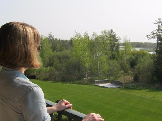 Alanson, MI: Balcony view
