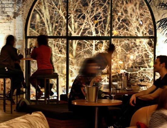 Panama Dining Room Bar At Night
