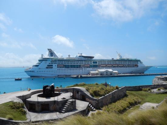 Cruise Ship From Museum Picture Of National Museum Of Bermuda - Bermuda cruise ship
