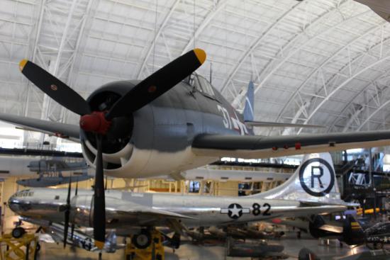 Chantilly, VA: F6 Hellcat and B-29 Superfortress Enola Gay