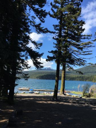 Odell Lake Lodge & Resort: nice fisherman lake