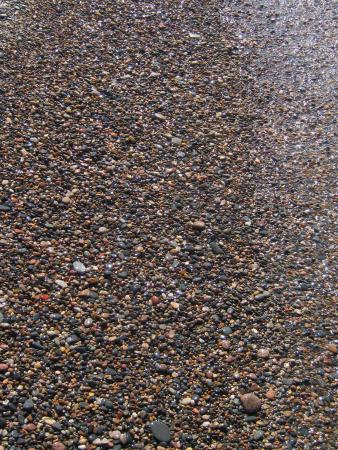 12-Mile Beach: beautiful little stones