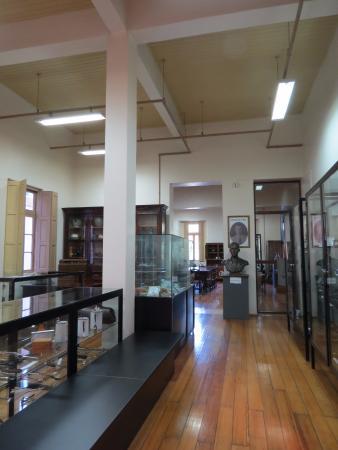 Lajeado, RS: Interior do museu que fica na Casa de Cultura