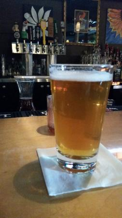 Twinsburg, OH: Having a brew at the bar!