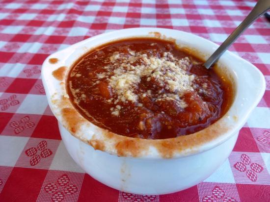 Tony's Pizza: Soup Pasta Fagioli