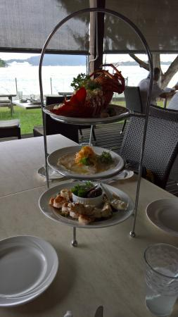 La Tentation Restaurant: Seafood platter