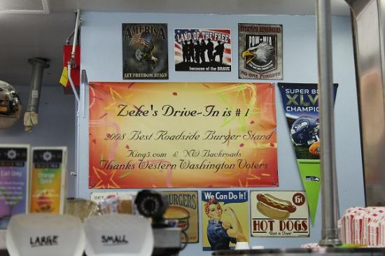 Gold Bar, วอชิงตัน: Zeke's is #1!