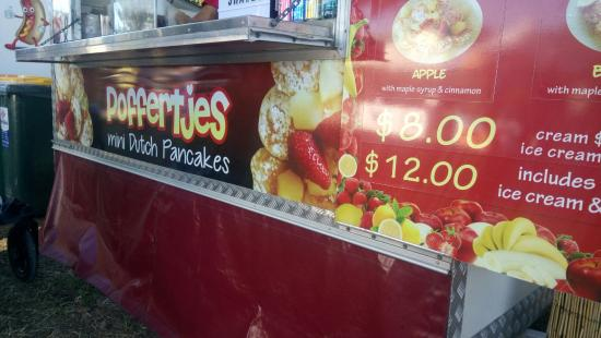 Homebush, Австралия: Poffertjes - Mini Pancakes