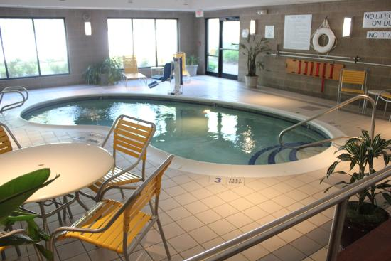 Indoor Pool Picture Of Fairfield Inn Amp Suites Rochester